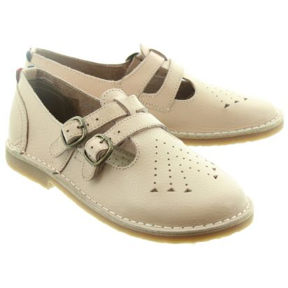 Pod Ladies Marley T-Bar Shoes In Baby