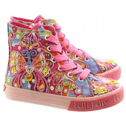 Kids LK1096 Frances Boots In Pink Multi