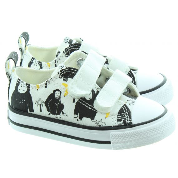 CONVERSE Kids All Star 2 Velcro Ox Shoes In Monkey