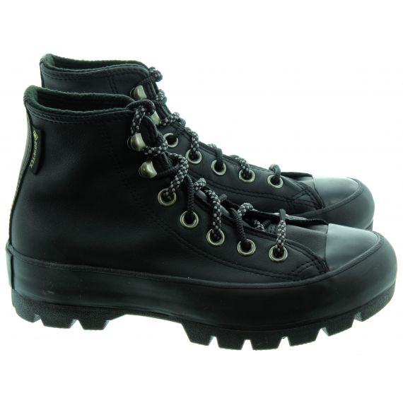 CONVERSE Ladies Lugged Hi Boots In Black