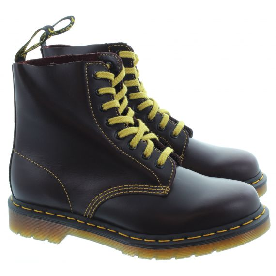 DR MARTENS Ladies 1460 Pascal Atlas in Oxblood
