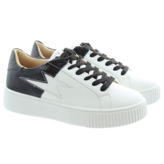 VANESSA_WU 2284 Lace Trainers In White