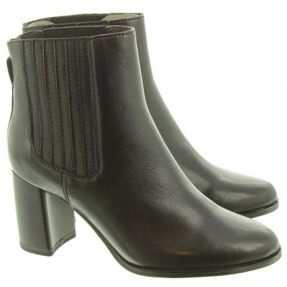 TAMARIS Ladies 25018 Ankle Boots In Black