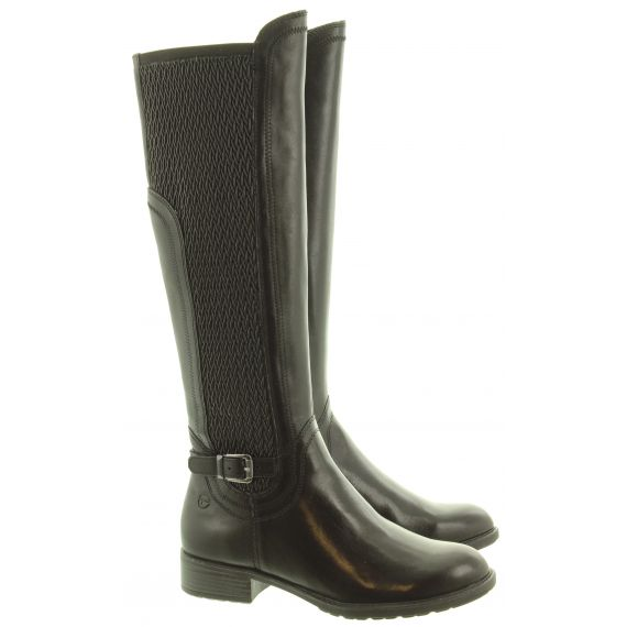 TAMARIS Ladies 25511 Knee Boots In Black
