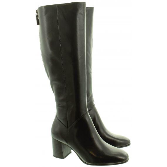 TAMARIS Ladies 2551523 Heel Knee Boots In Black
