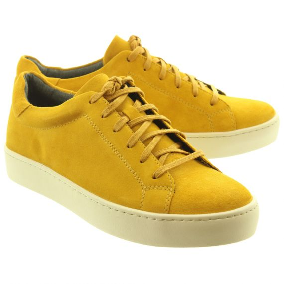 VAGABOND Ladies 4426 Lace Shoes In Mustard