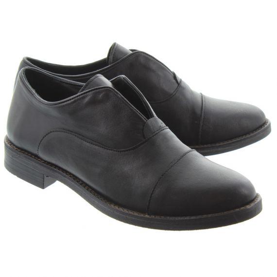 BUENO Ladies 8K3102 Slip On Shoes In Black
