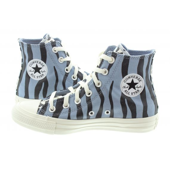 CONVERSE Adults Chuck Taylor All Star Hi Boots In Animal Print