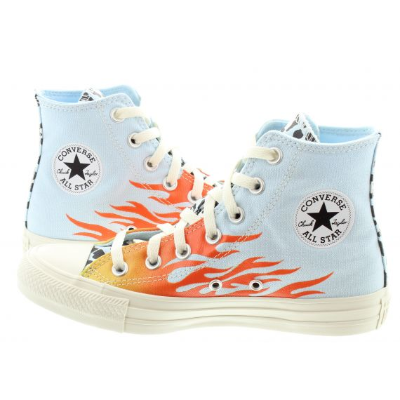 CONVERSE Adults Chuck Taylor All Star Hi Boots In Flame