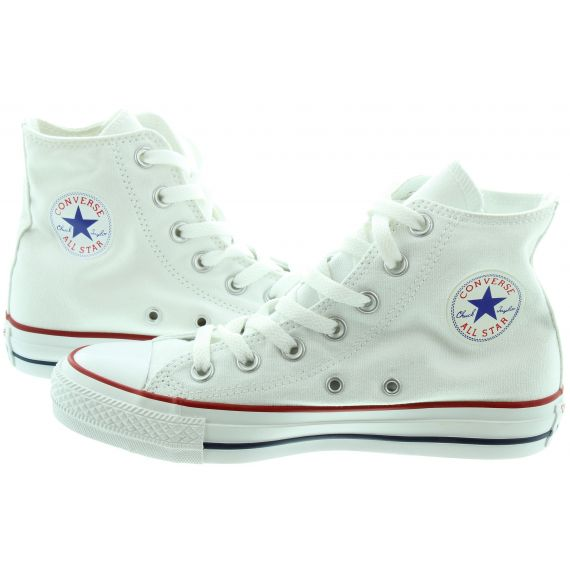 CONVERSE Adults Chuck Taylor All Star Hi Boots In White
