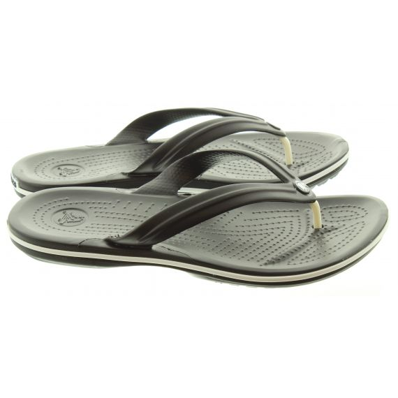 CROCS Adults Crocband Flip Flops In Black