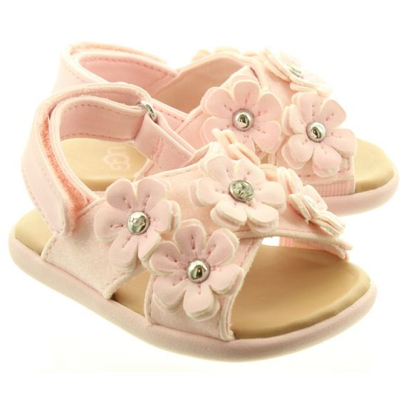 UGG Kids Allairey Sparkles Sandals In Pink