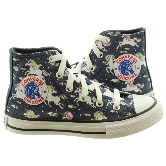 CONVERSE Allstar Hi Kids Boots In Unicorn