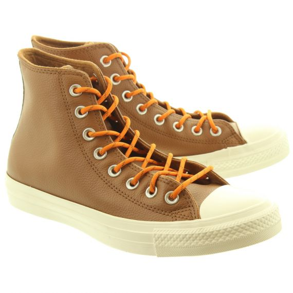 CONVERSE Allstar Hi Leather Boots In Tan