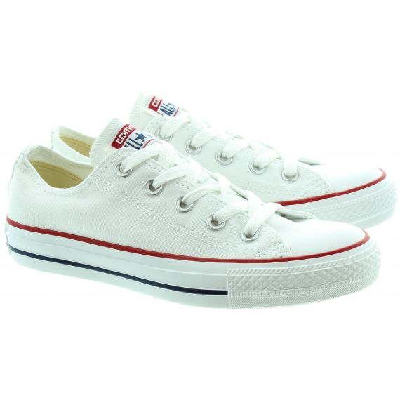 CONVERSE Canvas Allstar Ox Shoes In White