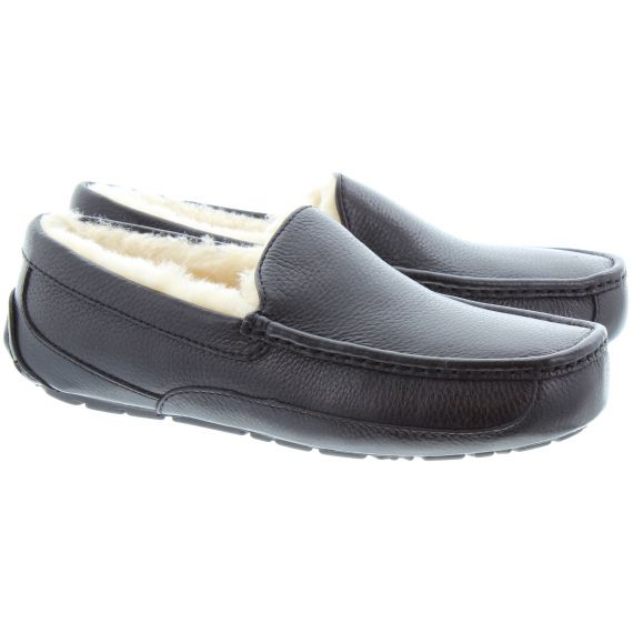 UGG Ascot Slippers in Black