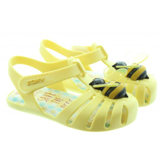 ZAXY Baby Bee Sandals In Yellow