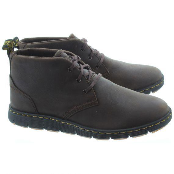 DR MARTENS Backline Mid Boots In Brown