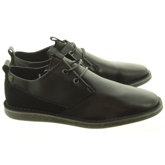 DEAKINS Mens Bagley Lace Shoes In Black