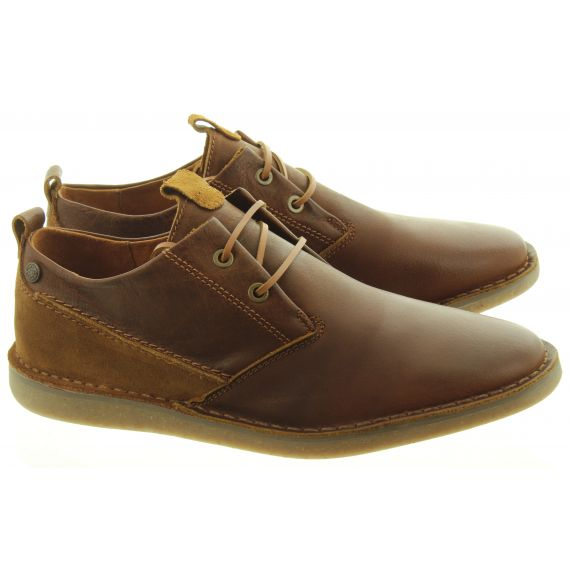 DEAKINS Mens Bagley Lace Shoes In Brown