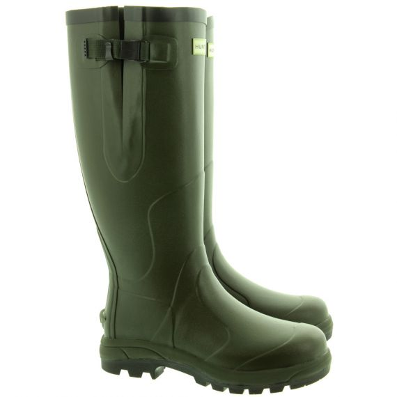 HUNTER Balmoral Classic Boots In Olive