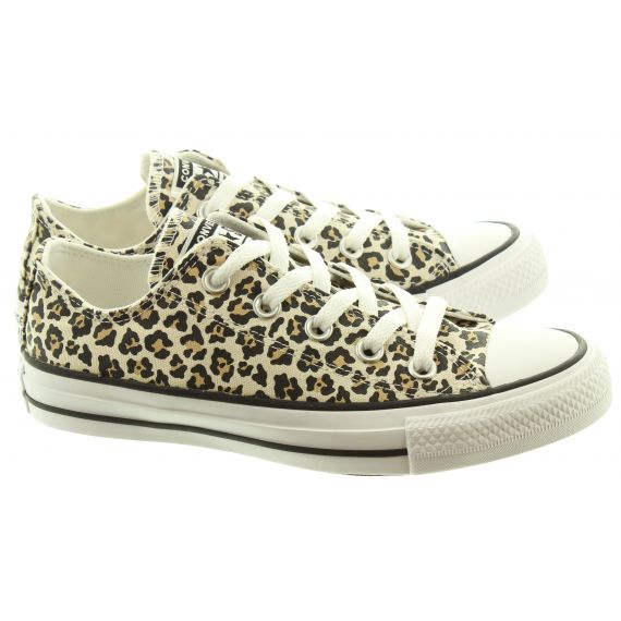 CONVERSE Canvas Allstar Ox Shoes In Leopard