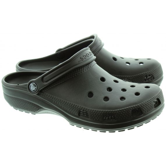 CROCS Cayman Classic Clogs in Black