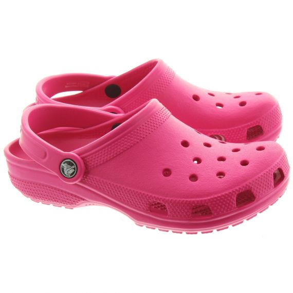 CROCS Cayman Classic Clogs In Pink