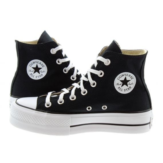 CONVERSE Chuck Taylor All Star Lift Hi Boots In Black