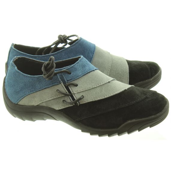 ADESSO Ladies Eadie Panel Shoe In Blue Multi
