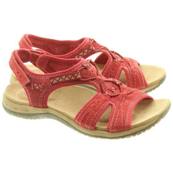EARTH SPIRIT Ladies Fairmont Sandals In Red