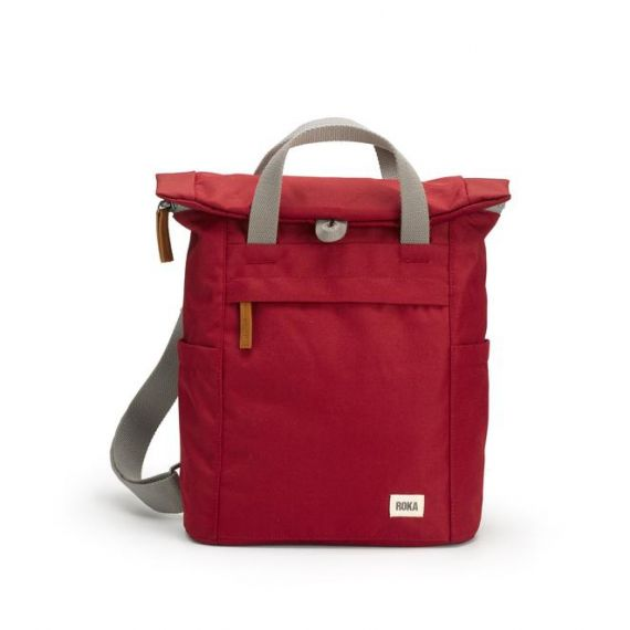 ROKA Finchley Sustainable Bag in Volcanic Red
