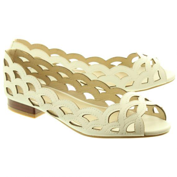 LUNAR Ladies FLC160 Devine Shoes In White