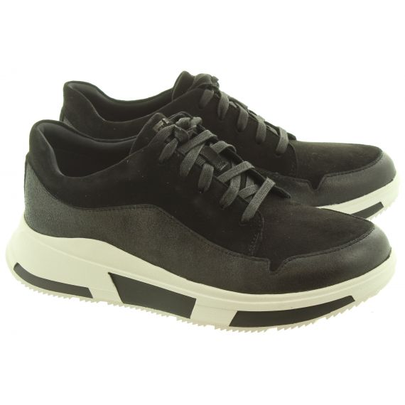 FITFLOP Ladies Freya Suede Sneakers In Black