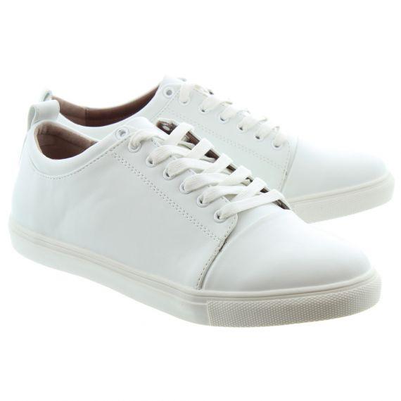 MATT_AND_NAT Ladies Gail Lace Vegan Shoes In White