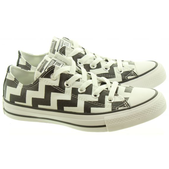 CONVERSE Ladies Glam Dunk Ox Shoes In Black