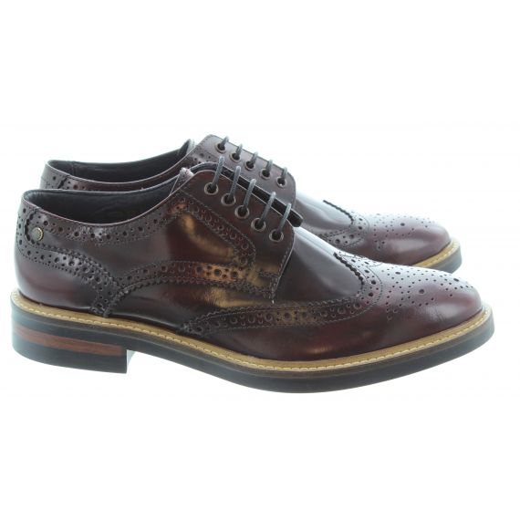 BASE Woburn Brogues in Burgundy