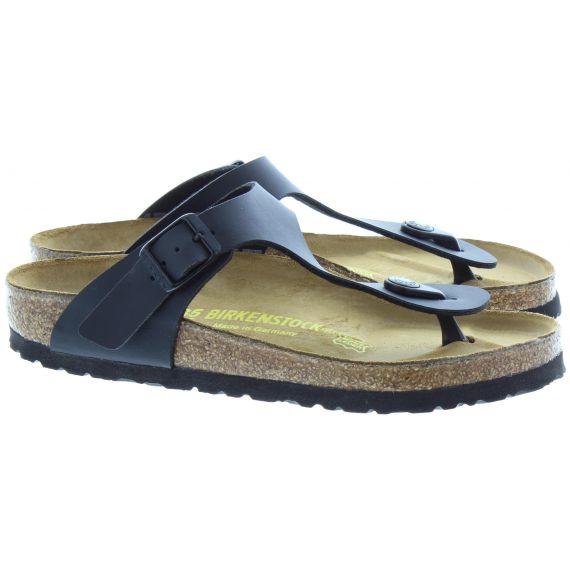 BIRKENSTOCK Gizeh Toe Post Sandals In Black