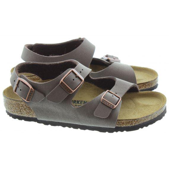 BIRKENSTOCK Kids Roma Sandals in Brown