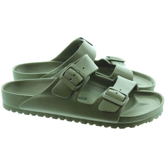 BIRKENSTOCK Mens Eva Arizona Sandals In Khaki