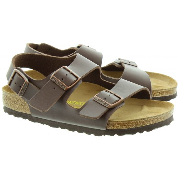 BIRKENSTOCK Milano Sandals in Brown
