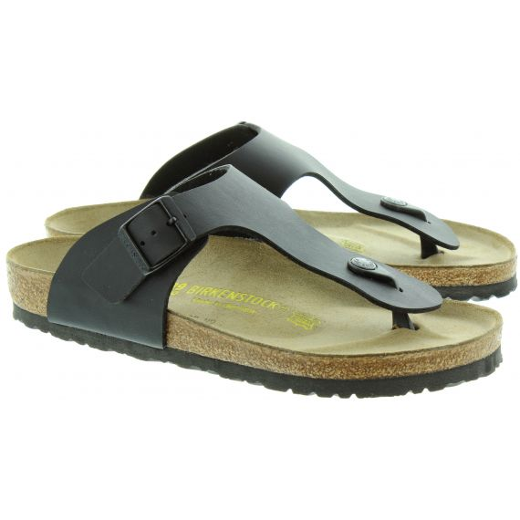 BIRKENSTOCK Ramses Toe Post Sandals in Black
