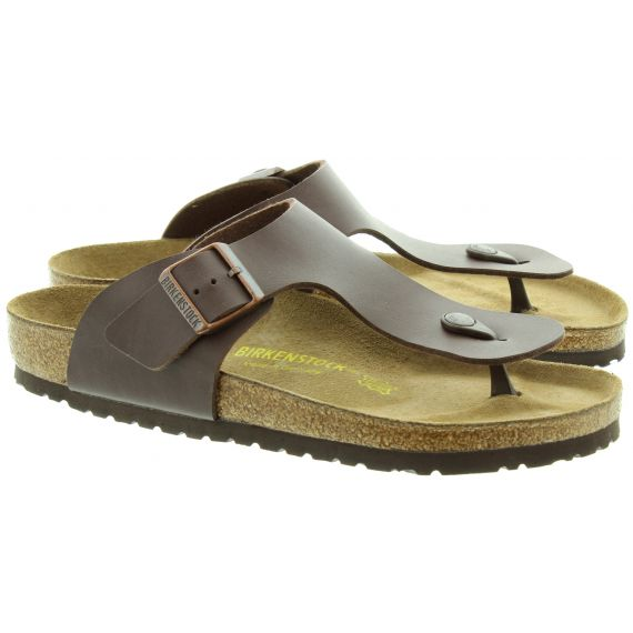 BIRKENSTOCK Ramses Toe Post Sandals in Brown