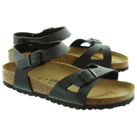 BIRKENSTOCK Rio Adult Sandals In Black