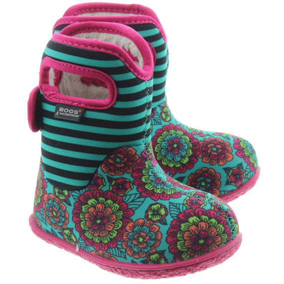 BOGS Kids Baby Bogs Classic Boots In Turquoise