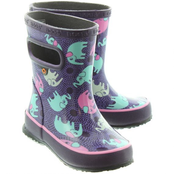 BOGS Kids Skipper Welly In Purple