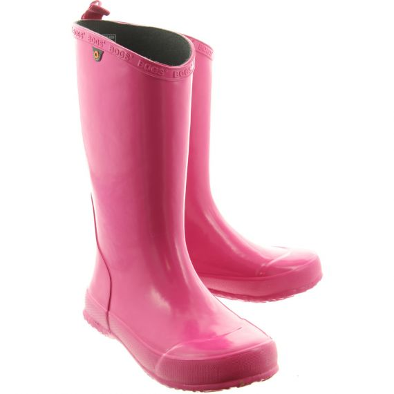 BOGS Kids Welly 78526 Boot In Pink