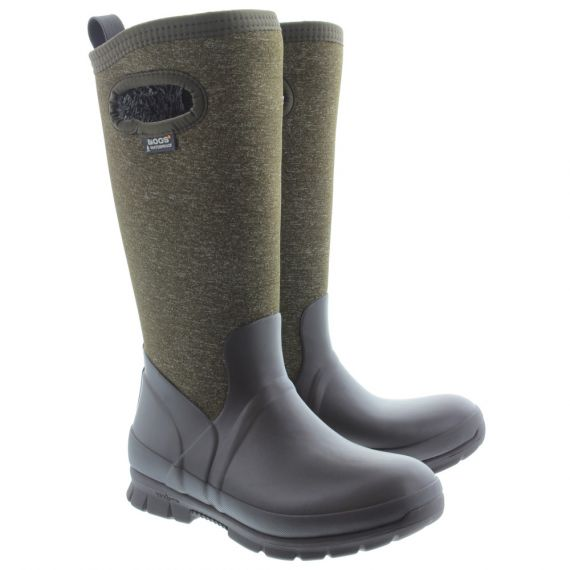 BOGS Ladies Crandall Tall Boots In Chocolate