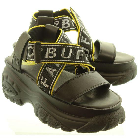 BUFFALO Ladies Original Buffalo Sandals In Black