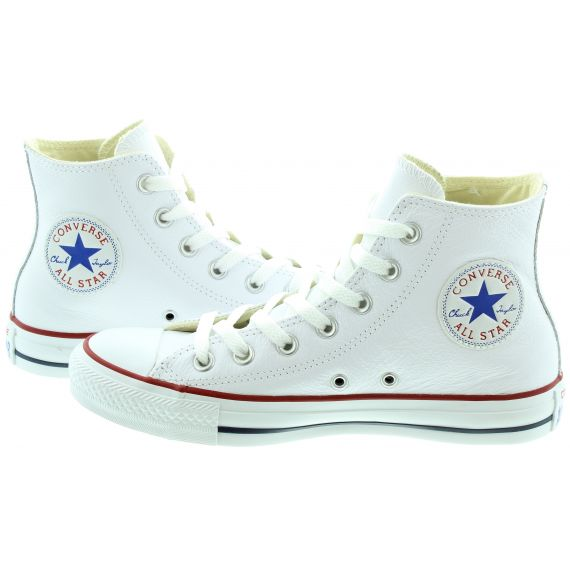 CONVERSE Allstar Hi Leather Boots in White